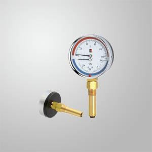 双刻度温度表